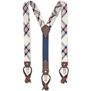 Tommy Hilfiger Mens Convertible Suspenders Y Shape Suspenders Convertible - o/s