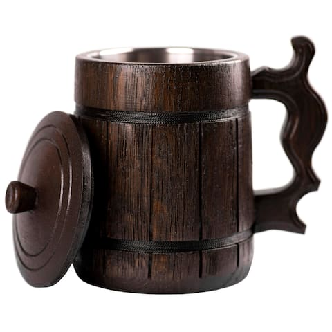 Beer Mug with Lid