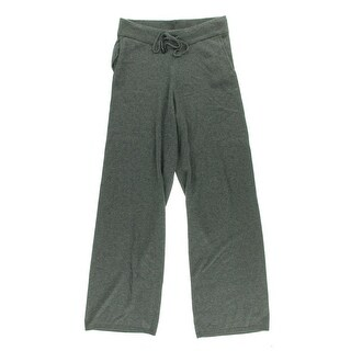 Calvin Klein Womens Wool Blend Heathered Casual Pants - M