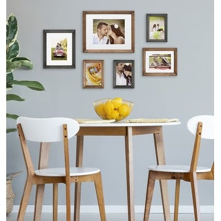 Link to Kate and Laurel Bordeaux Gallery Wall Frame Set Similar Items in Decorative Accessories