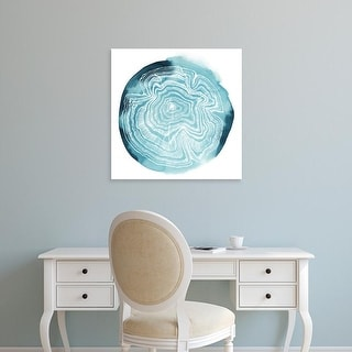Easy Art Prints Grace Popp's 'Tree Ring Overlay IV' Premium Canvas Art