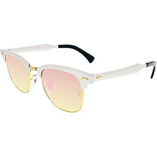 Ray-Ban Mirrored Clubmaster RB3507-137/7O-51 Silver Sunglasses