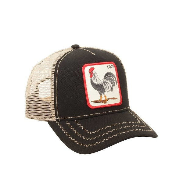 ae0f6461e993d1 Shop Goorin Bros. Mens Rooster Hat in Black - Ships To Canada ...