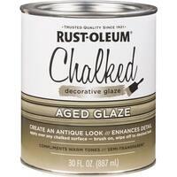 Rust-Oleum Aged Chalked Glaze 315881 Unit: QT