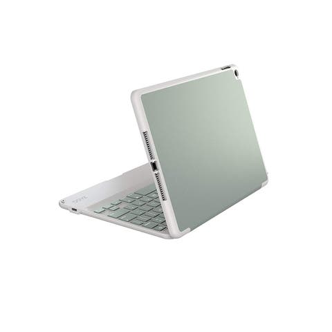 Zagg Hinged Folio Protective Case With Non Backlit Keyboard for Apple iPad Air - Sage