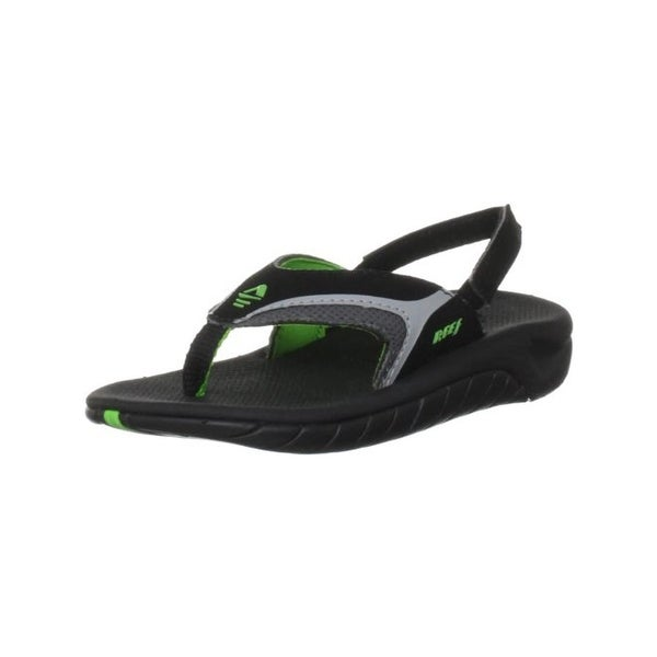 3994ef1a1f69 Shop Reef Boys Slap II Thong Sandals Slip On Toddler - Free Shipping ...