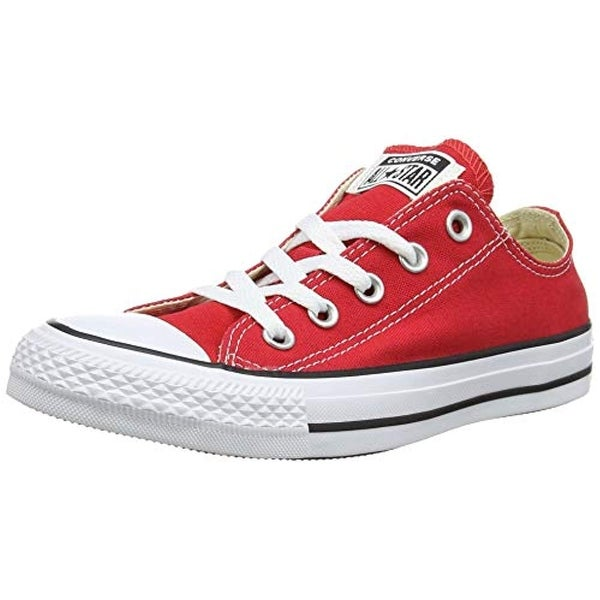 0fd69ea20afd Shop Converse Unisex Chuck Taylor All Star Low Top Red Sneakers - Us Men 5    Us Women 7 - Free Shipping Today - Overstock.com - 25975105