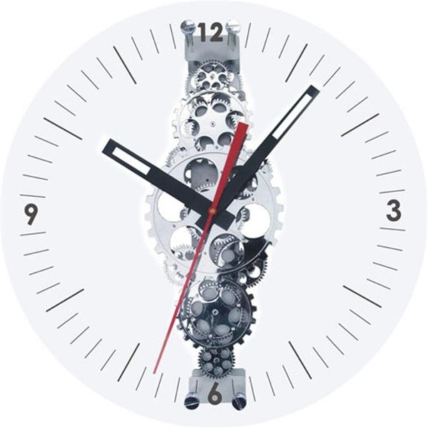 Shop Maples Gcl05 78 Large Moving Gear Wall Clock With Glass Cover