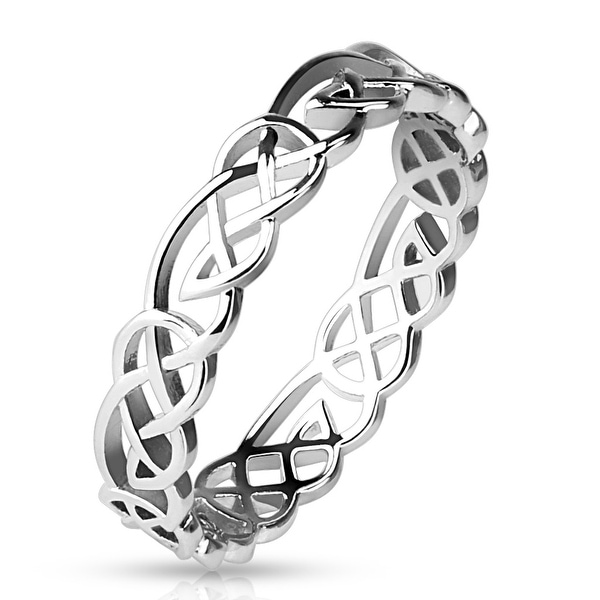 Tribal Knots Brass Ring (Sold Ind.)