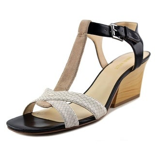 Nine West Geralda Women Open Toe Leather Multi Color Sandals