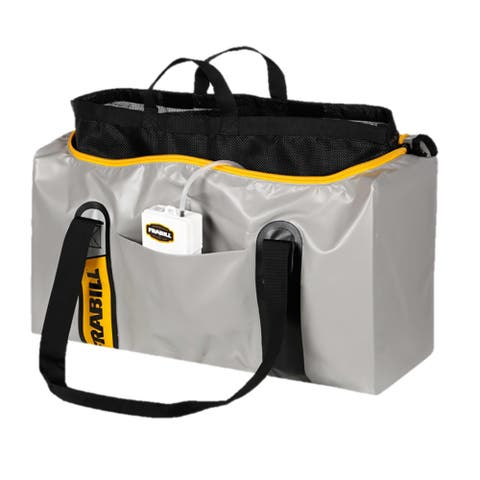 Frabill mesh and weigh bag with aerator
