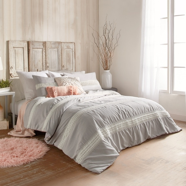 Mae Tufted Cotton Dot Comforter and Sham Set. Opens flyout.