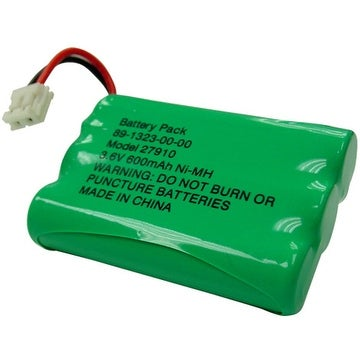Replacement VTech 27910 / DS3111 NiMH Cordless Phone Battery - 600mAh / 3.6V