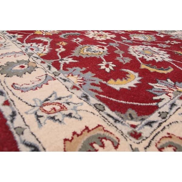5 X8 Hand Tufted Wool Oriental Area