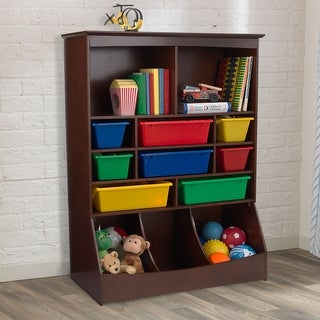 KidKraft: Wall Storage Unit - Espresso