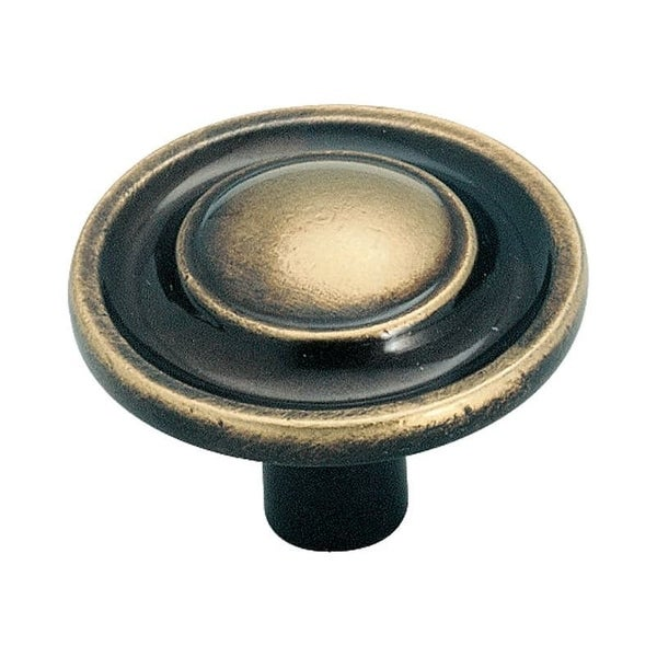 Amerock BP755 Allison Value Hardware 1-1/4 Inch Diameter Mushroom Cabinet Knob
