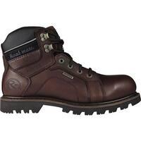 "Roadmate Boot Co. Men's Gravel 6"" Waterproof Shock Absorbing Work Boot Moondance Oil Full Grain Leather"