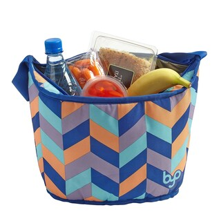 BYO by BUILT NY Savory Insulated Lunch Tote, Mod Chevron
