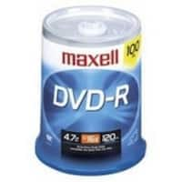Maxell DVD-R, 4.7GB, 16x, 100pk Spindle