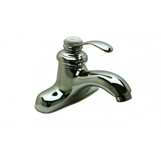 Bathroom Faucet Chrome Centerset Tugboat 5 1/4H 1 Handle Renovator's Supply