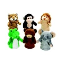 Wild Animal Puppet, Set - 6