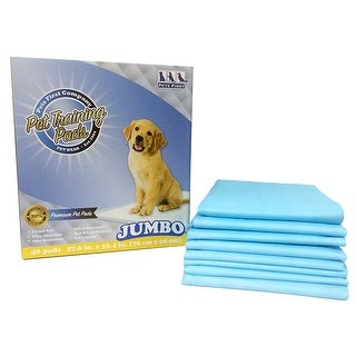 Link to Pets First Premium Jumbo Training Pads 2012018 Version - MOST ABSORBENT Puppy Pads. 40 Count - Jumbo - 40 counts Similar Items in Dog Food & Treats