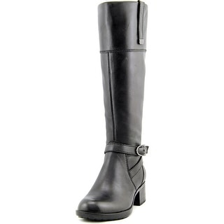 bandolino baya women round toe leather black knee high boot bandolino tess women dtp dtp boots   free shipping on orders over      rh   overstock