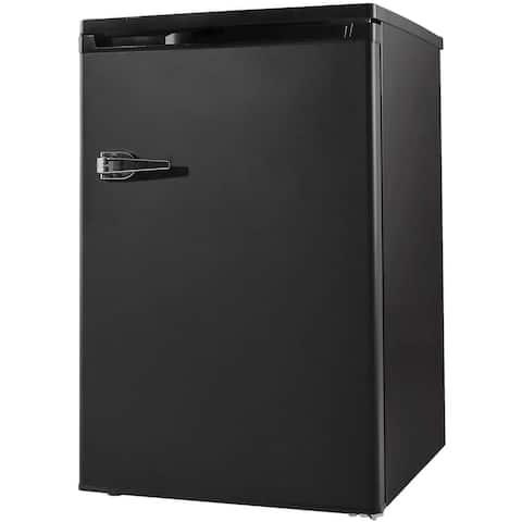 3.0 Cu.ft Compact Upright Freezer, Mini Freezer with Single