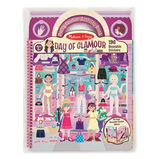 Puffy Sticker Day of Glamour Activity Book
