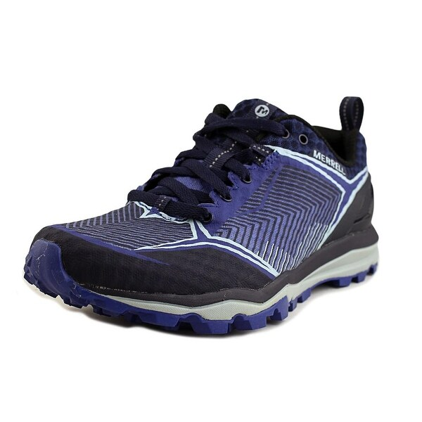 Merrell All Out Crush Shield Women Round Toe Synthetic Blue Sneakers
