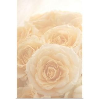 """""""Pink roses"""" Poster Print"""