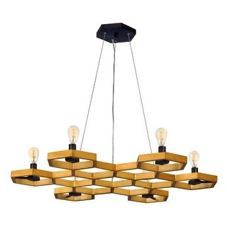 Fredrick Ramond FR38016 6 Light Chandelier From the Moxie Collection