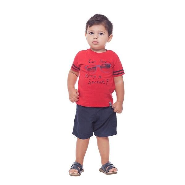 Pulla Bulla Baby Boys' Short Sleeve Graphic T-Shirt