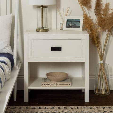 Carson Carrington Modern 1-Drawer Nightstand