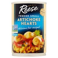 Reese Artichoke Hearts - Tender Small - Case of 12 - 14 oz.