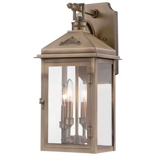 """The Great Outdoors 72432-261 4 Light 19.5"""" Height Outdoor Wall Sconce from the Eastbury Collection"""