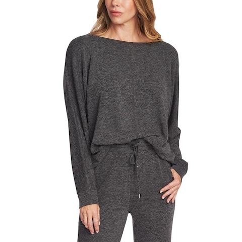 Vince Camuto Womens Blouse Boatneck Cozy