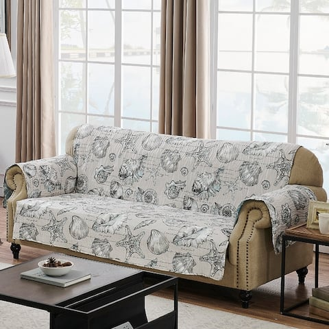 Barefoot Bungalow Cruz Reversible Sofa Protector