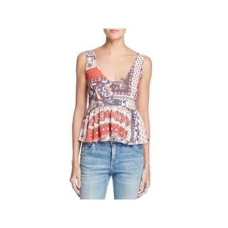 GUESS Womens Gold Spaghetti Strap V Neck Party Top Size  L. SALE ends soon  ends in 6 hours. Quick View 8a4bcb85e