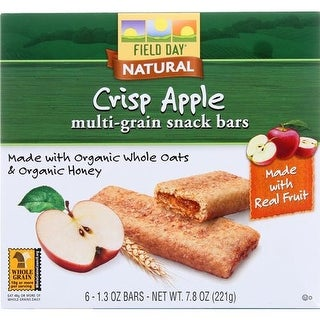 Field Day - Apple Multi Grain Snack Bars ( 36 - 1.3 OZ)