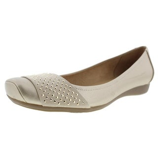 Naturalizer Womens Vine Flats Metallic Embellished