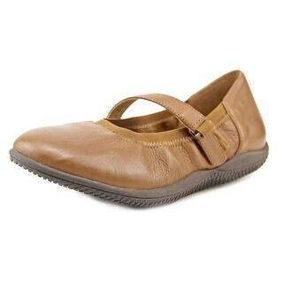 Softwalk HOLLIS Round Toe Leather Mary Janes