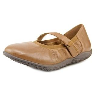 Softwalk HOLLIS W Round Toe Leather Mary Janes