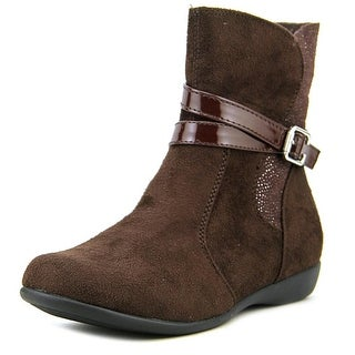 Balleto by Jumping Jacks Starlight Youth Round Toe Suede Brown Boot