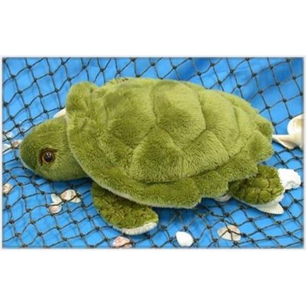 "Wishpets Child Turtle Plush Toy 10"" Green"