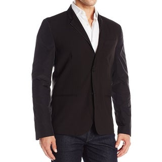Kenneth Cole Reaction NEW Black Mens Size Medium M Two Button Blazer