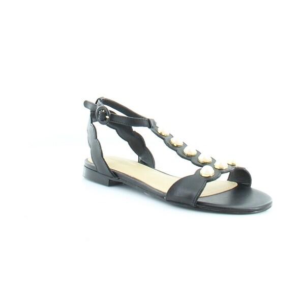 Marc Fisher Elana Women's Sandals & Flip Flops Black - 6.5