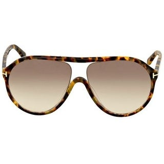 Tom Ford Edison Sunglasses (Blond Havana /Brown Gradient Lens)