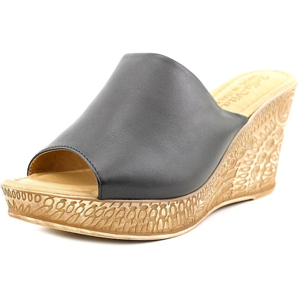 Bella Vita Mileto Women Open Toe Synthetic Wedge Sandal