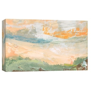 """PTM Images 9-101916  PTM Canvas Collection 8"""" x 10"""" - """"Landscape Study 13"""" Giclee Abstract Art Print on Canvas"""